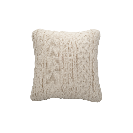 Malmo - Ingrid Cable Knitted Cushion
