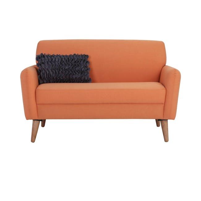 Ruth 2 Seater Sofa - Tangerine (Fabric) - 2