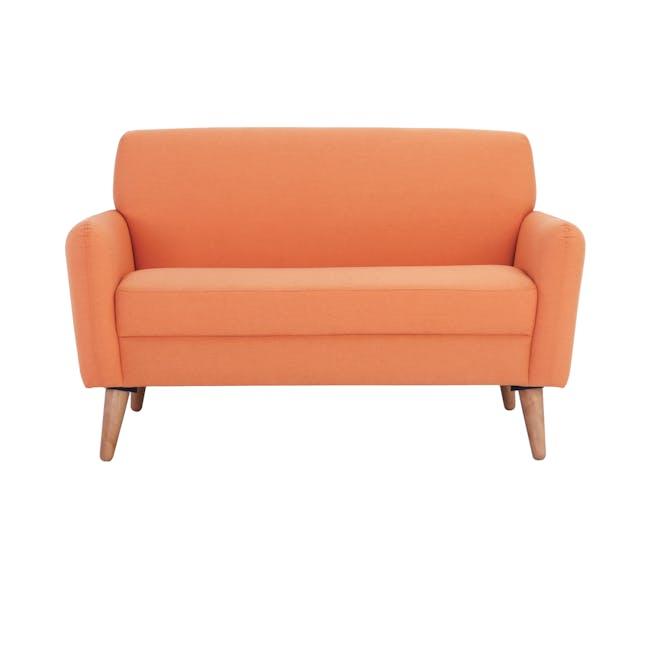 Ruth 2 Seater Sofa - Tangerine (Fabric) - 1