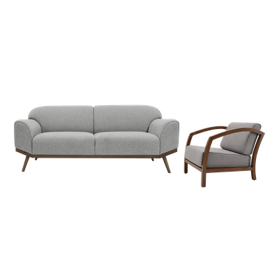 Madison 3 Seater Sofa with Velda Lounge Chair - Image 1