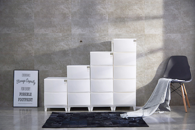 5-Tier 'Knock Down' Compact Cabinet - Image 2