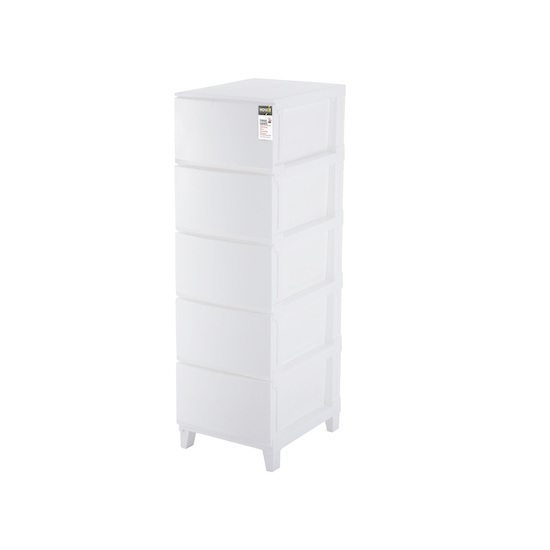 Houze - 5-Tier 'Knock Down' Compact Cabinet