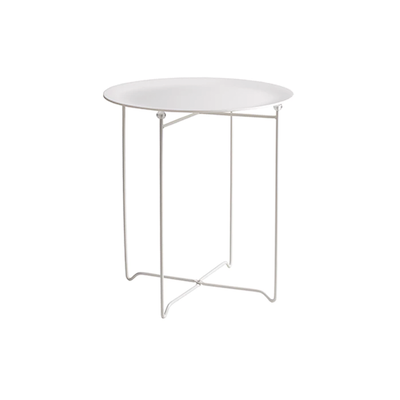 Xever Occasional Table - White, Matt White - Image 1