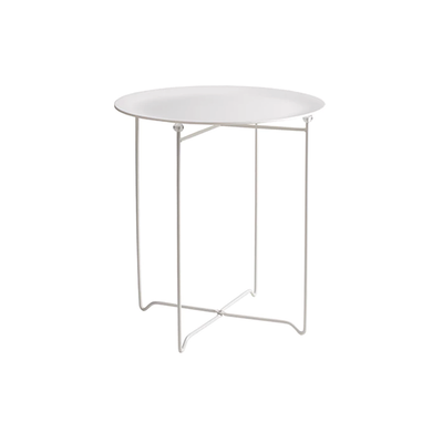 Xever Occasional Table - White, Matt White