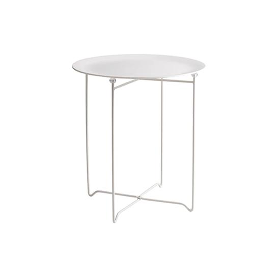 Helga - Xever Occasional Table - White, Matt White