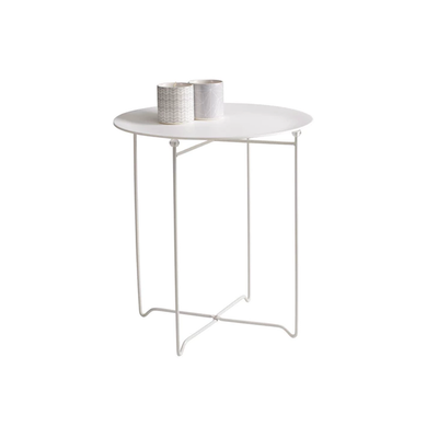 Xever Occasional Table - White, Matt White - Image 2