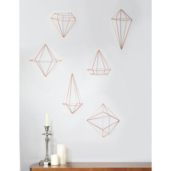 Umbra - Prisma Wall Decor - Copper