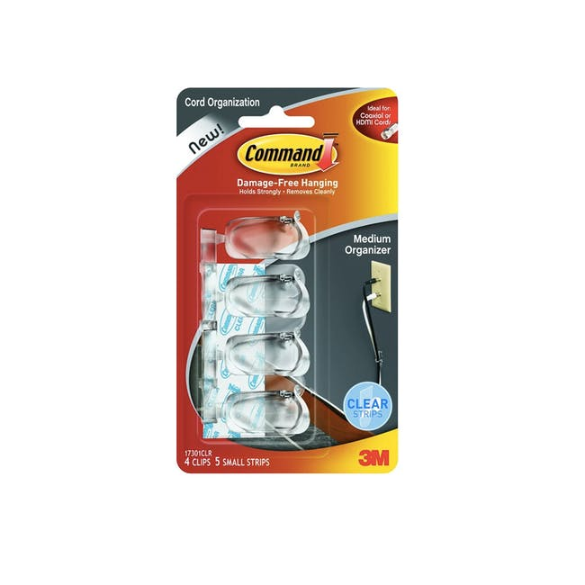 Command™ Cord Clips (3 Sizes) - 2