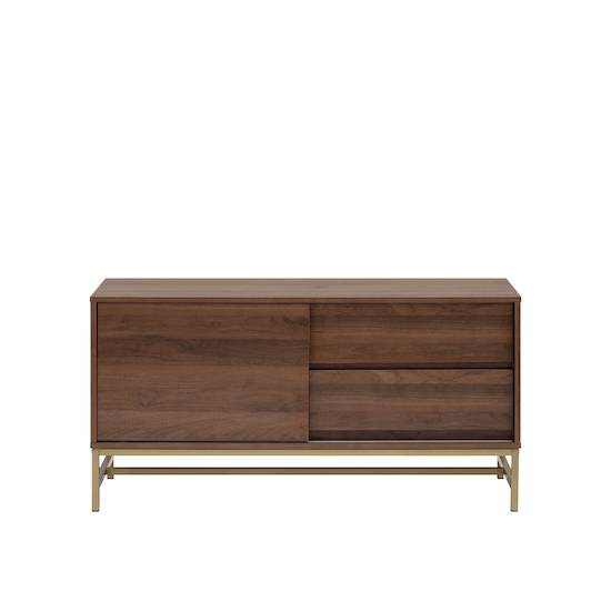 Glass and Metal - Tegan Sideboard 1.2m