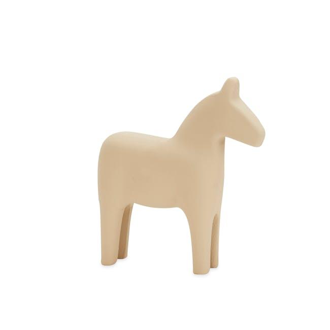 Molly Wooden Pony - Ivory - 0