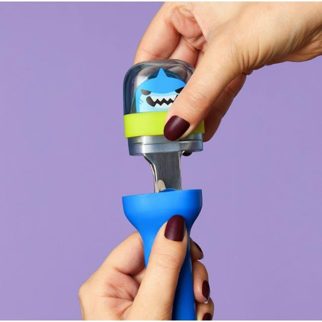 Zoku Kids Pocket Utensil Set - Blue - 4