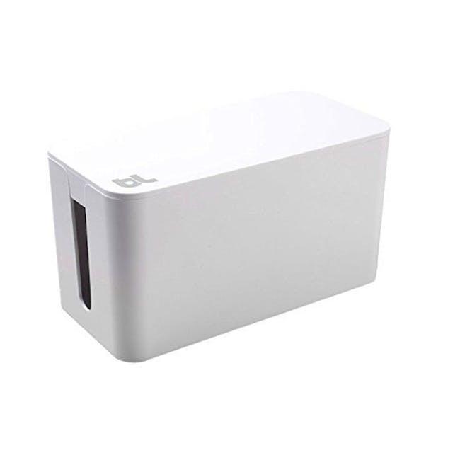 Bluelounge CableBox Mini - White - 0