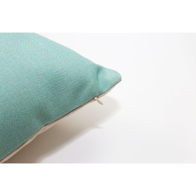 Throw Cushion - Mint - 2
