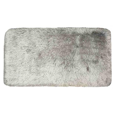 Shaggy Elegance Carpet 2.3m by 1.6m - Frozen Grey - Image 2