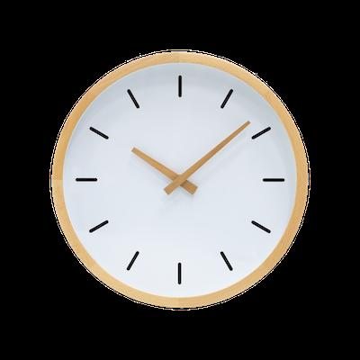 Kimber Wall Clock - Oak - Image 1