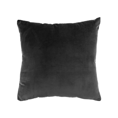 Alyssa Velvet Cushion - Grey - Image 1
