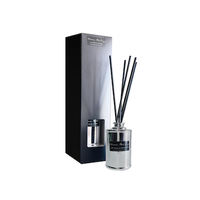 Lychee & Peony Reed Diffuser Silver - Image 2