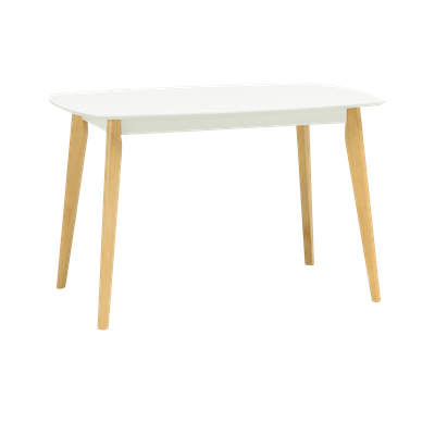 Harold Dining Table 1.2m with 4 Harold Dining Chairs - Image 2