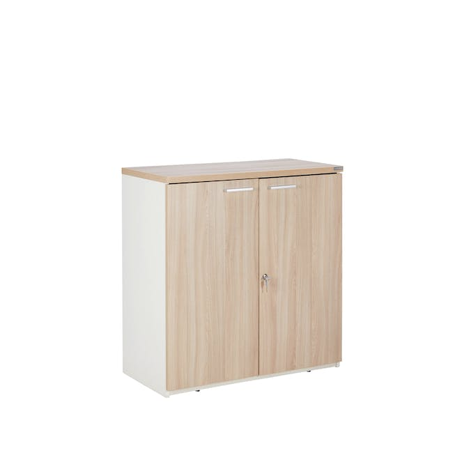 Archie Low Cabinet - White - 4