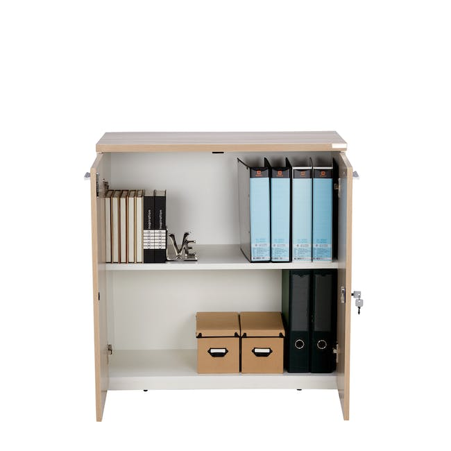 Archie Low Cabinet - White - 1