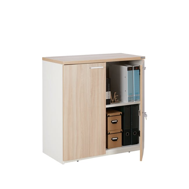 Archie Low Cabinet - White - 2