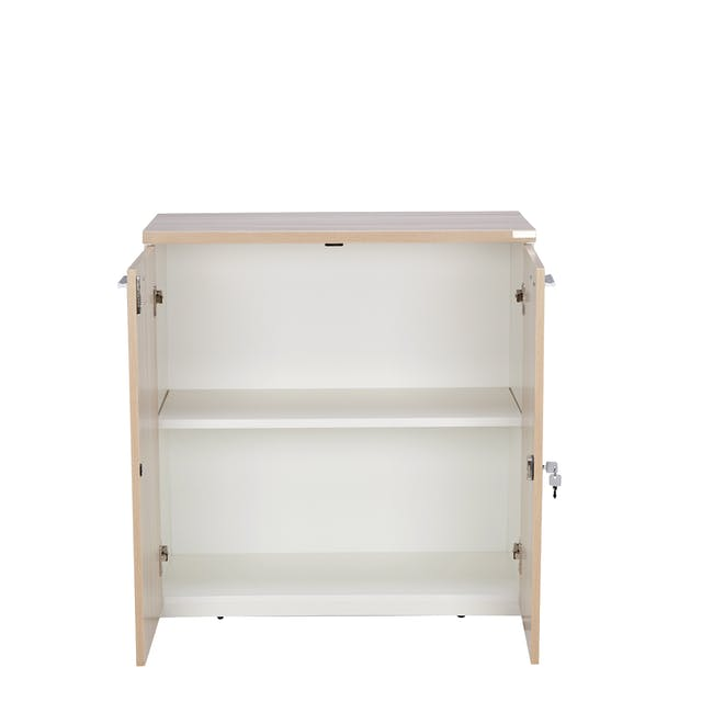 Archie Low Cabinet - White - 3