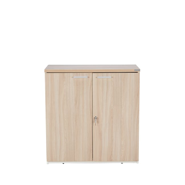 Archie Low Cabinet - White - 0