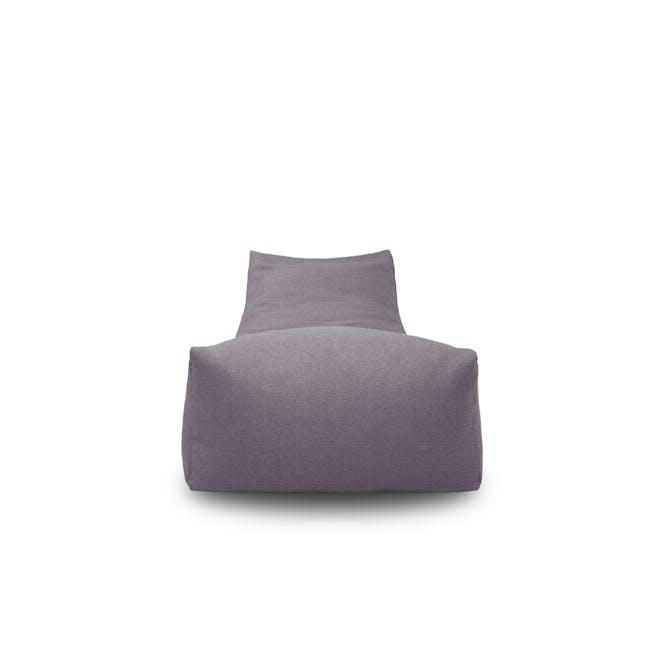 Daisy Bean Bag - Light Grey - 2