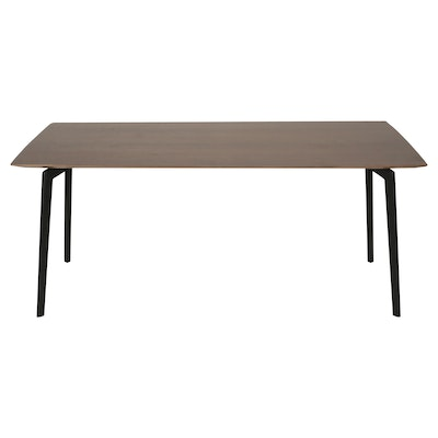 Dexter 4 Seater Dining Table - Walnut - Image 2