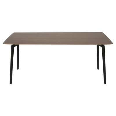 Dexter 6 Seater Dining Table - Walnut