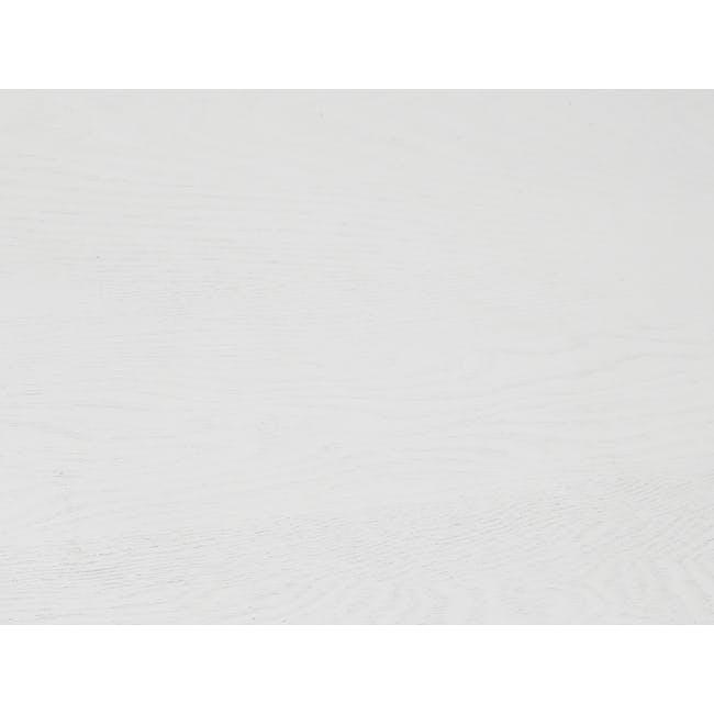 Morey Study Table - Black, White, Black Ash - 8