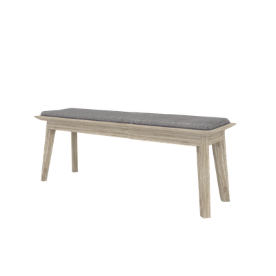 Leland Cushioned Bench 1.3m - Image 2