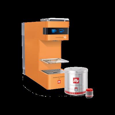 illy Y3 iperEspresso Coffee Machine - Pumpkin - Image 1