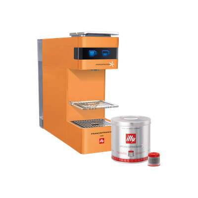 illy Y3 iperEspresso Coffee Machine - Pumpkin