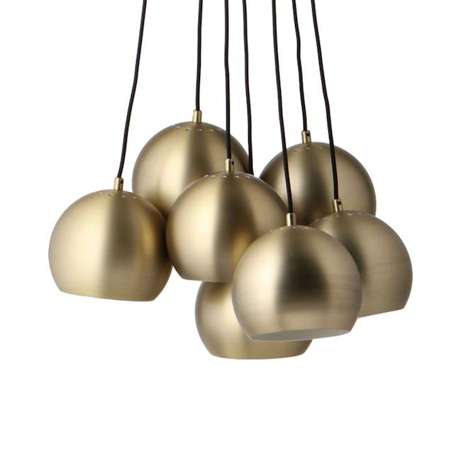 Slug Pendant Lamp (Set of 7) - Brass - 0