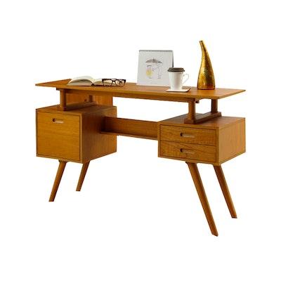 Retro Floating Desk