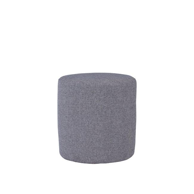 Omni Pouf - Grey - Small (Easy Clean Fabric) - 0
