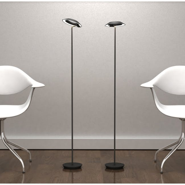 Koncept Royyo Floor Lamp -Soft Warm Black - 2