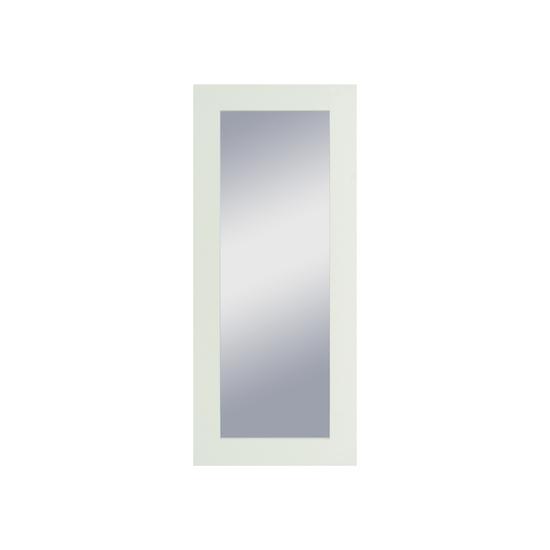 Helga freesia full length mirror tall 60 x 140 cm white for Miroir 140 x 60
