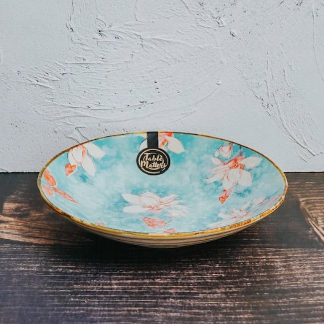 Table Matters Magnolia Coupe Plate - 2