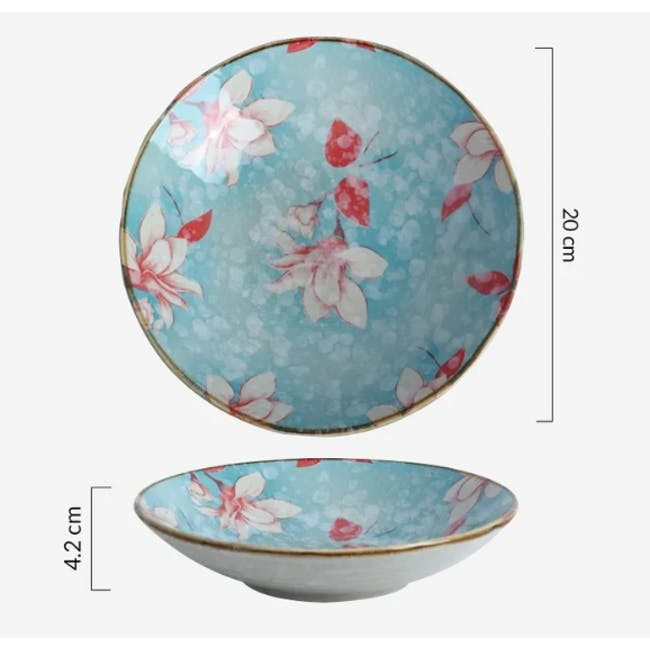 Table Matters Magnolia Coupe Plate - 3