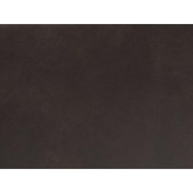 Acadia 3 Seater Sofa - Mocha (Genuine Cowhide) - 9