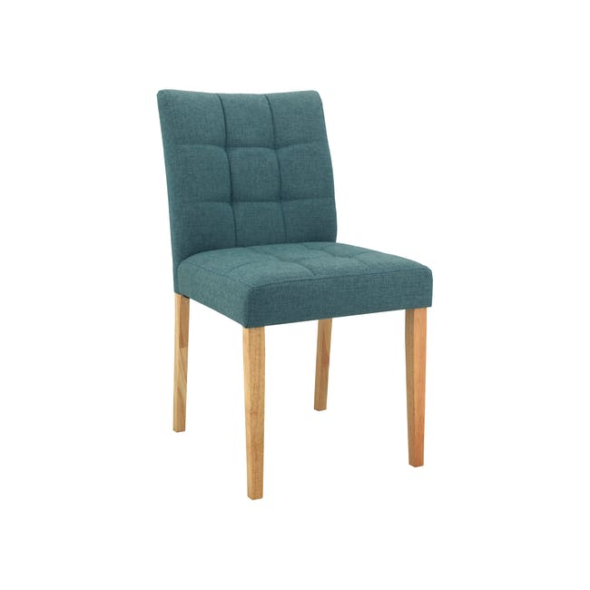 Seth Dining Chair - Natural, Parsley - 0