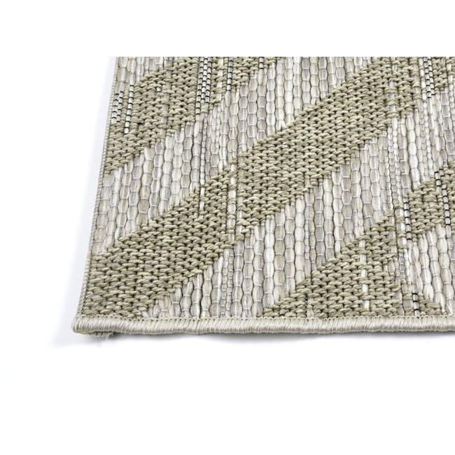 Mira Flatwoven Rug 2.9m x 2m  - Light Lines - 3