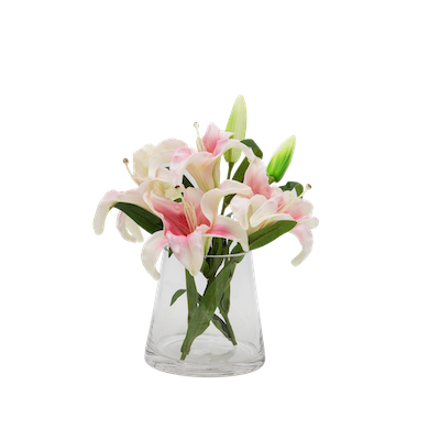 Faux Lily Pot Set - Image 1