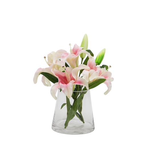 1688 - Faux Lily Pot Set