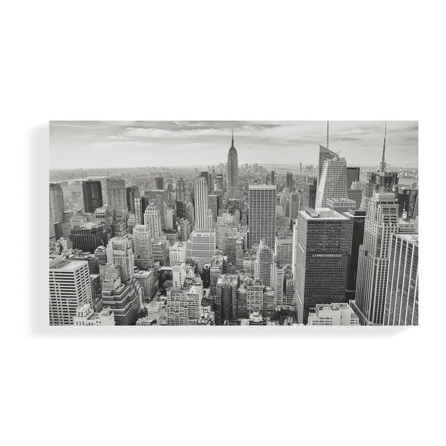 Cityscape Art Print on Stretched Canvas 90cm by 50cm - New York - 0