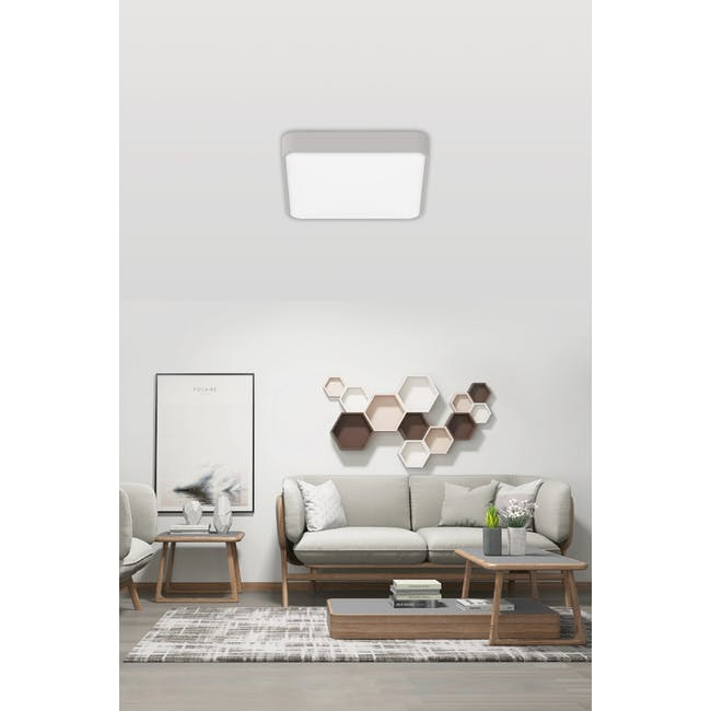 Yeelight Crystal LED Smart Ceiling Light Plus - Grey - 1