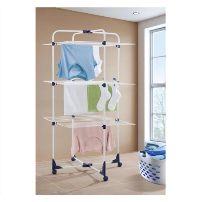 Leifheit Turmtrockner Classic Tower Clothes Dryer (3 Sizes) - 1
