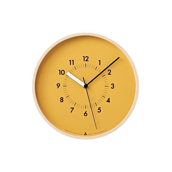 SOSO Clock - Orange - 0